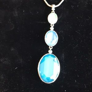 NWT Blue Summer Drop Pendant Touchstone